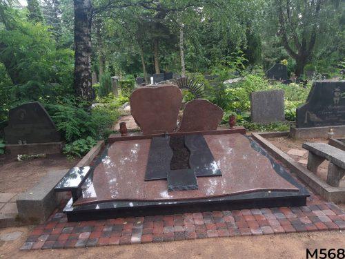 Kapavietės dengimas granito plokšte, trinkelių klojimas, kapo atnaujinimas