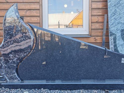 Dviejų dalių paminklas Ice Tundrair Gabro Diabaz granito