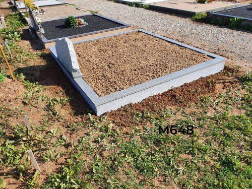 Paminklas smėlis granito tvorelė