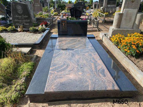 Kapo dengimas granito plokšte, paminklas