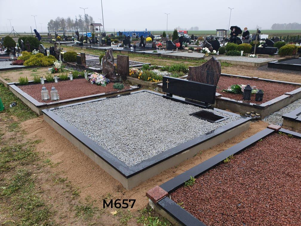Vienos dalies paminklas kapo dekoravimas skalda